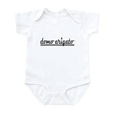 Domo Arigato Thank You Infant Bodysuit