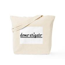 Domo Arigato Thank You Tote Bag
