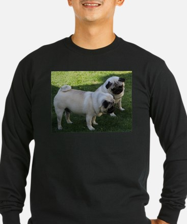 Two fawn Pugs Long Sleeve T-Shirt