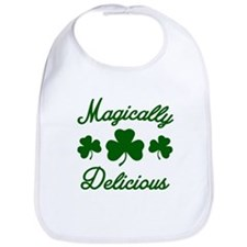 Magically Delicious Shamrock Bib