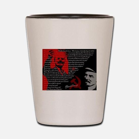 Lenin Shot Glass