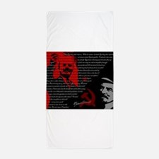 Lenin Beach Towel