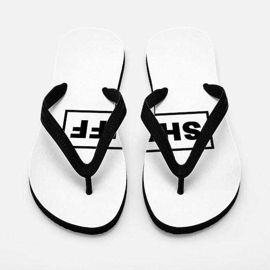 Sheriff Flip Flops