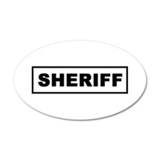 Sheriff Wall Decal