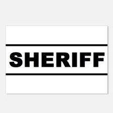 Sheriff Postcards (Package of 8)