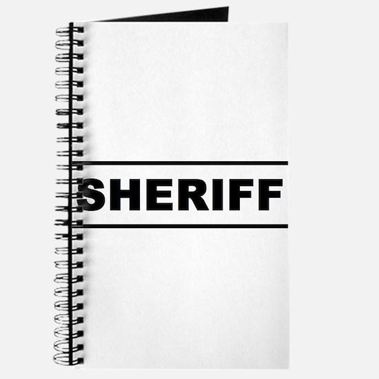 Sheriff Journal