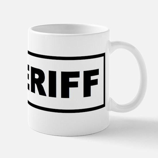 Sheriff Mugs