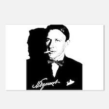 Mikhail Bulgakov The Mast Postcards (Package of 8)