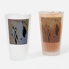 Goat Drinking Glass