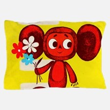 Cheburashka Soviet Animation Soyuzmult Pillow Case