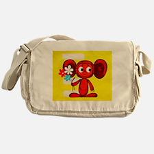 Cheburashka Soviet Animation Soyuzmu Messenger Bag