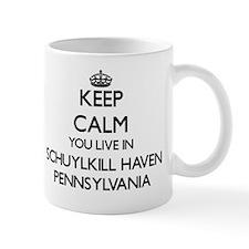 Keep calm you live in Schuylkill Haven  Mug