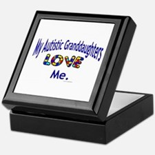 My Autistic Granddaughters Love Me Keepsake Box