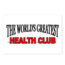 """""""The World's Greatest Health Club"""" Postcards (Pack"""
