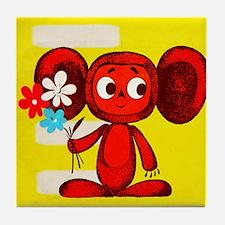 Cheburashka Soviet Animation Soyuzmul Tile Coaster