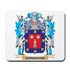 Zambrano Coat of Arms - Family Crest Mousepad