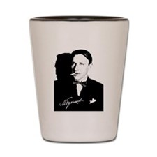Mikhail Bulgakov The Master Russian Wri Shot Glass
