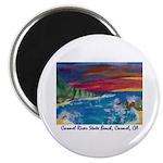 Carmel River State Beach Magnet