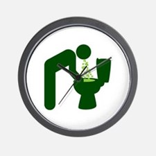 St. Patrick's Day Aftermath Wall Clock