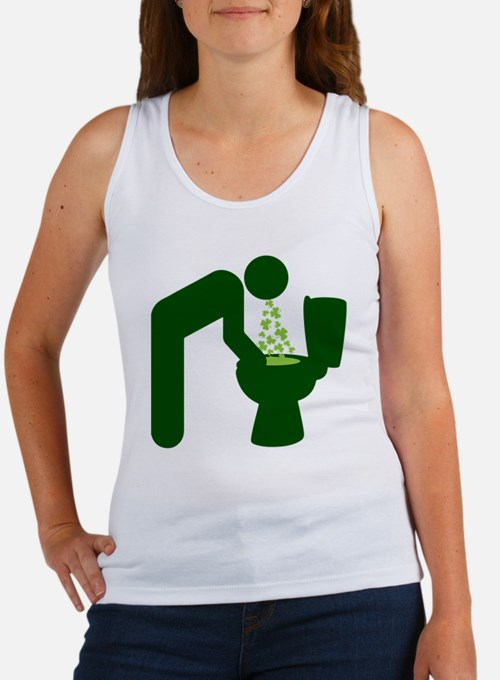 St. Patrick's Day Aftermath Women's Tank Top