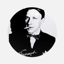 Mikhail Bulgakov The Master Russi Ornament (Round)
