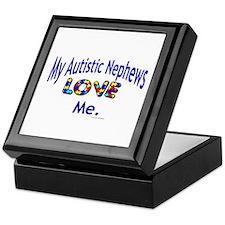 My Autistic Nephews Love Me Keepsake Box
