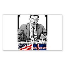 Robert Bobby Fischer American Chess grandm Decal