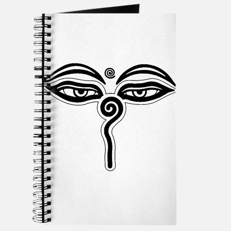 Cute Buddha eyes Journal