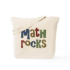 Math Rocks Arithmetic Geek Tote Bag