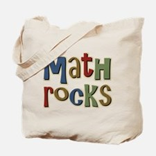 Math Rocks Arithmetic Geek Tote Bag