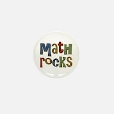Math Rocks Arithmetic Geek Mini Button (10 pack)