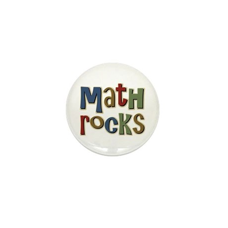 Math Rocks Arithmetic Geek Mini Button