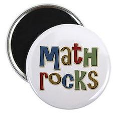 "Math Rocks Arithmetic Geek 2.25"" Magnet (10 pack)"