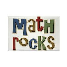 Math Rocks Arithmetic Geek Rectangle Magnet (100 p