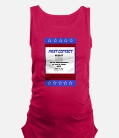 23x35 First Contact poster Maternity Tank Top