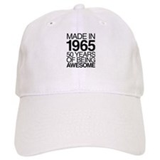 Made in 1965, 50 Years of Being Awesome' Baseball Cap
