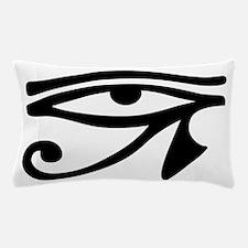Eye of Horus ancient Egyptian symbol R Pillow Case
