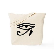 Eye of Horus ancient Egyptian symbol Ra P Tote Bag