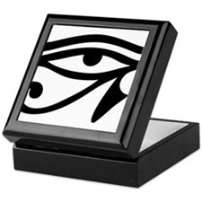 Eye of Horus ancient Egyptian symbol Keepsake Box
