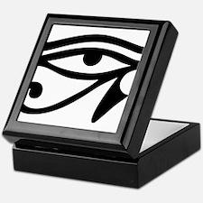 Eye of Horus ancient Egyptian symbol Keepsake Box