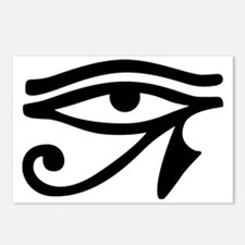 Eye of Horus ancient Egyp Postcards (Package of 8)