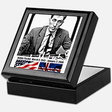 Robert Bobby Fischer American Chess g Keepsake Box