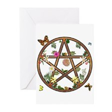 """Living Pentagram"" Greeting Cards (Pk of 10)"