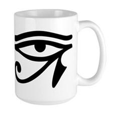 Eye of Horus ancient Egyptian symbol Ra Prote Mugs