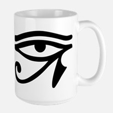 Eye of Horus ancient Egyptian symbol Ra Prote Mugs
