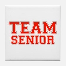 Team Senior Tile Coaster