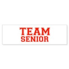Team Senior Bumper Bumper Sticker