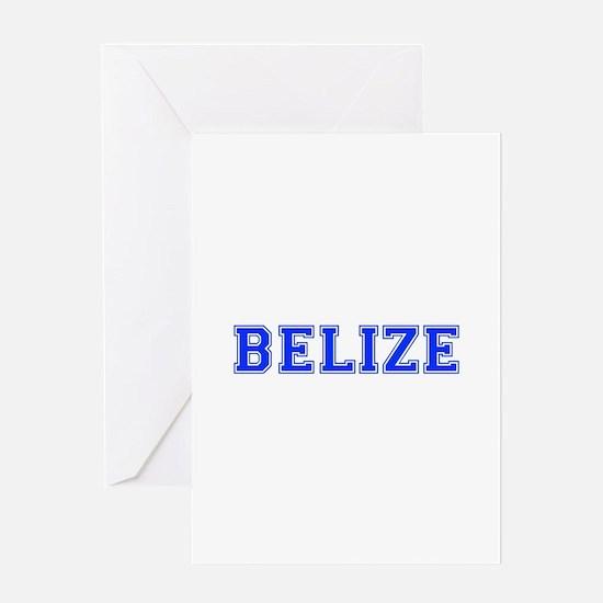 Belize-Var blue 400 Greeting Cards