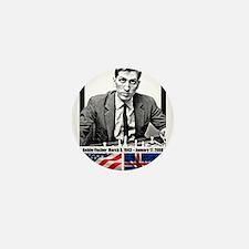 Robert Bobby Fischer American Chess gr Mini Button