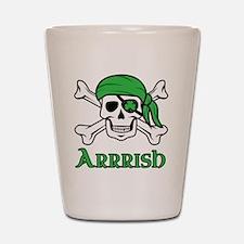 Irish Pirate Shot Glass